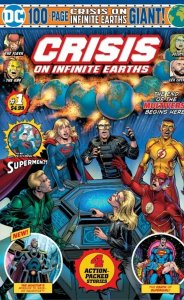 Crisis on Infinite Earth Giant #1 - Sold out - Hot!
