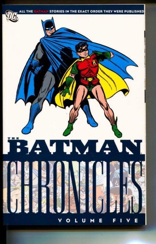 Batman Chronicles Volume 5 TPB trade