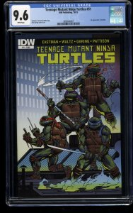 Teenage Mutant Ninja Turtles (2011) #51 CGC NM+ 9.6 1st Print 1st Jennika!