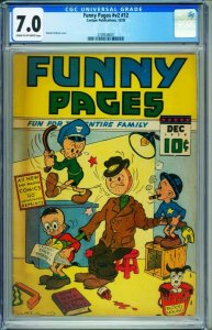 Funny Pages Vol.2 #12 CGC 7.0 1938 CENTAUR issue-2109538001