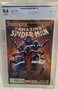 Amazing Spider-Man #9 - CBCS 9.4 - White - FIVE First Appearances!