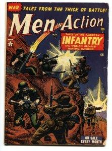 Men In Action #2 1952- ATLAS WAR COMIC- Maneely