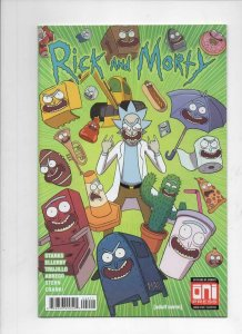 RICK and MORTY #40, 1st, NM, Grandpa, Oni Press, from Cartoon 2015 more in store