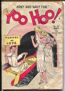 Yoo Hoo! #35 1945-H-K Pubs-military jokes & cartoons-WWII-FR