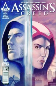 Assassin's Creed: Trial By Fire #5B VF/NM; Titan | save on shipping - details in