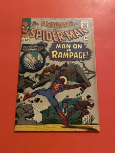 The Amazing Spider-Man #32 (1966) a man on a rampage