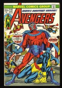 Avengers #110 VG+ 4.5 Marvel Comics Thor Captain America