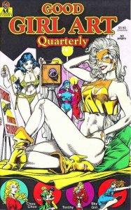 GOOD GIRL ART QUARTERLY #1, VF/NM, Frank Frazetta, AC Comics, FemForce, 1990