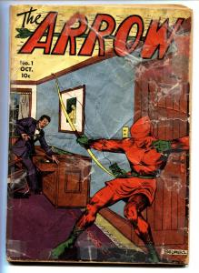 Arrow #1 1940 Centaur first issue Rare Golden-Age comic book
