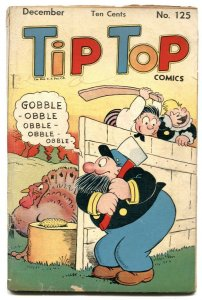 Tip Top Comics #125 1946-thanksgiving cover VG-