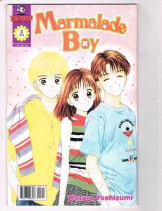 Marmalade Boy #3 VF/NM Tokyo Pop Manga Comic Book Yoshizumi 2001 DE48