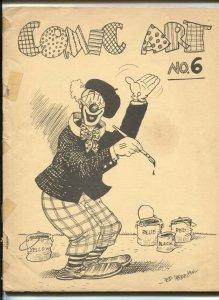 Comic Art Fanzine #6 1966- Roy Thomas- Carl Barks- Ed Wheelan