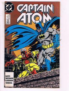 Captain Atom #33 VF DC Comics Comic Book Bates Batman 1988 DE17