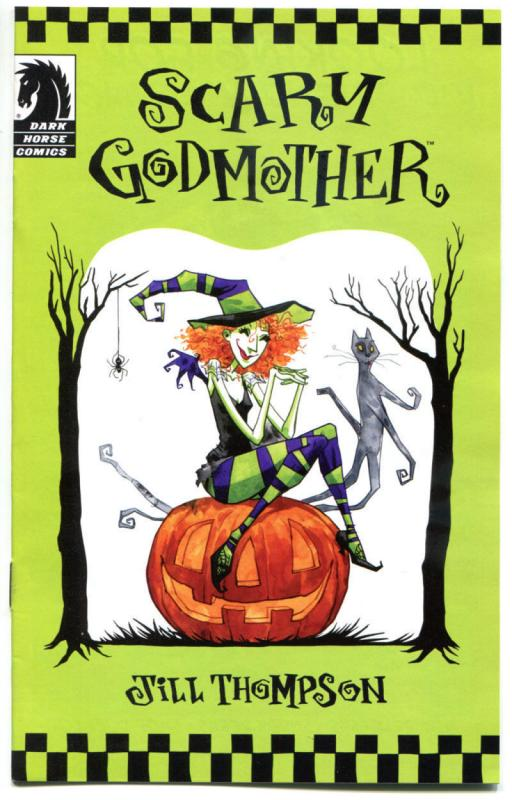 SCARY GODMOTHER, NM, Ashcan, Halloween, 2011, Jill Thompson,more Promos in store