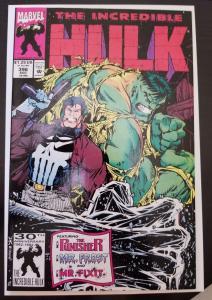 incredible hulk  # 396  1992 marvel    punisher + MR fixit vegas