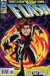 Flash (2nd Series) #92 VF/NM; DC   save on shipping - details inside