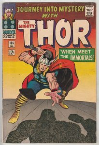Journey into Mystery #125 (Feb-66) FN/VF+ Mid-High-Grade Thor, Hercules