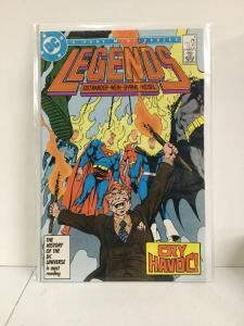 Legends 4 Nm Near Mint DC Comics