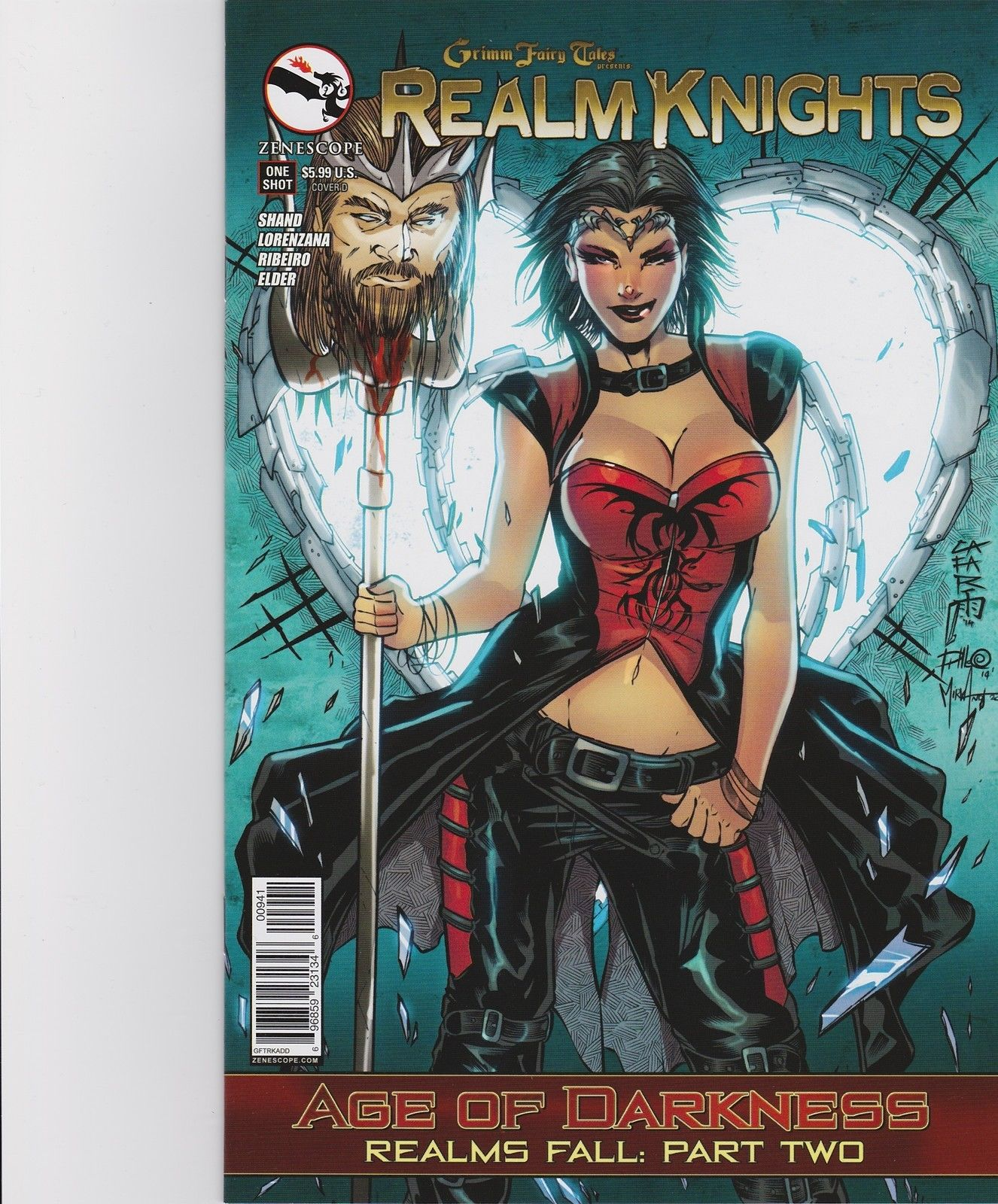 NM or better! Grimm Fairy Tales Realm Knights One Shot Cover B
