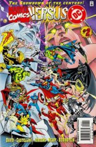DC versus Marvel #2, NM + (Stock photo)