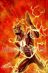 The Flash - Speedforce (1-Print)