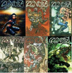 ZENDRA (2001 PENNY FARTHING) 1-6  COMPLETE 1st series!