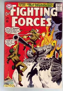 Our Fighting Forces #89 (Jan-65) VF High-Grade Gunner and Sarge, Pooch