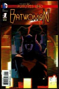Futures End Batwoman 3-D Cover (2014, DC) 9.6 NM+