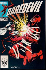 Marvel Comics Group! Daredevil! Issue 203!