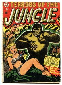 Terrors Of The Jungle #19 comic book 1952 LB Cole-Wild Spicy bondage