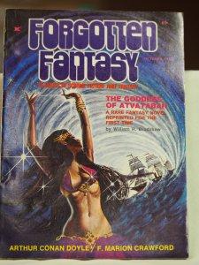Forgotten Fantasy Issues #1-5 1970-1971 Unread Copies