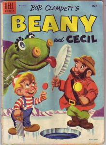 Four Color #635 (Jan-54) VG- Affordable-Grade Beany, Cecil, Captain Huffenpuff