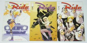 the Ride: Die Valkyrie #1-3 VF/NM complete series - image comics bad girl A set