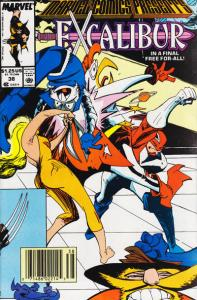 Marvel Comics Presents (1988 series) #38, VF+ (Stock photo)