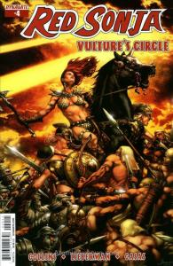 Red Sonja: Vulture's Circle #4A VF/NM; Dynamite | save on shipping - details ins