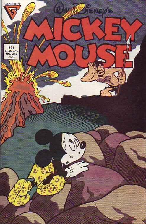 Mickey Mouse, Walt Disney's #249 (Aug-89) NM/NM- High-Grade Mickey Mouse, Goofy