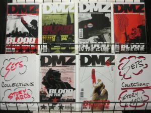 DMZ (2006 VERTIGO) 29-34  Blood In The Game