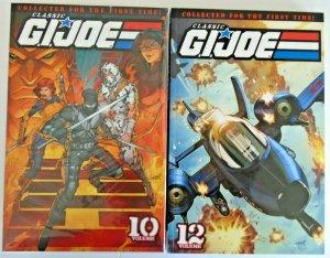 *Classic GI Joe TPB 10 & 12 (IDW, '09, 1st Edition) Collects 91-100, 111-120