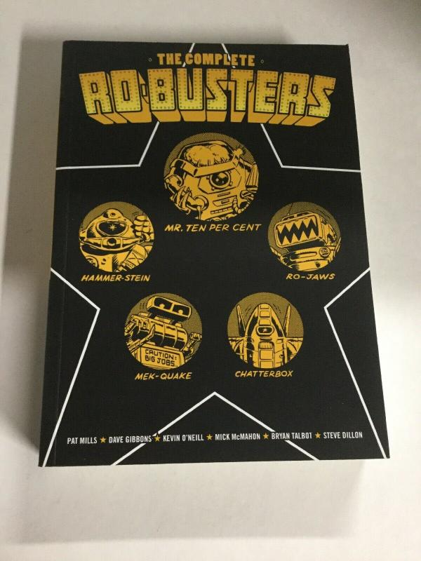 The Complete Ro-Busters Nm Near Mint 2000ad Comics SC TPB