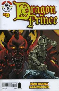 Dragon Prince #3A VF/NM; Top Cow | save on shipping - details inside