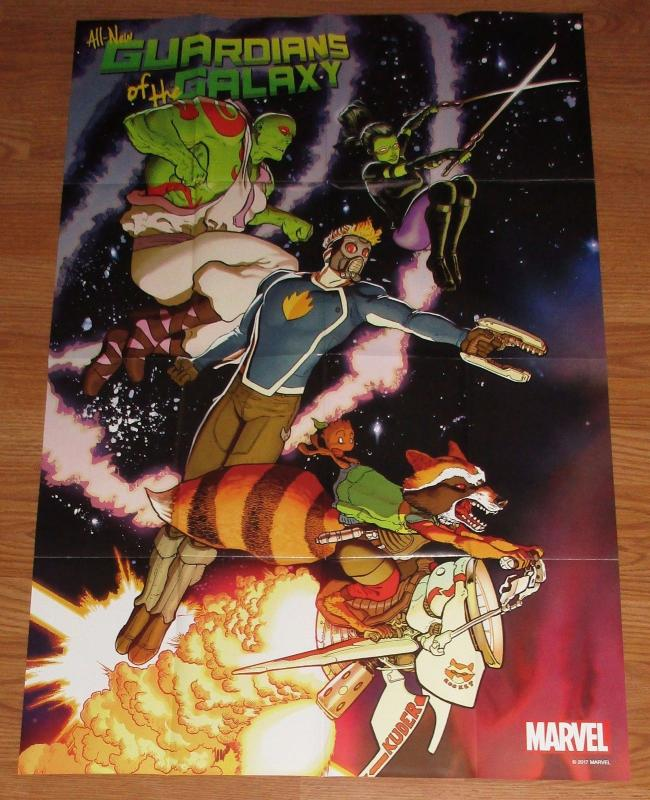 All New Guardians of the Galaxy #1 Folded Promo Poster 2017 (24 x 36) New!