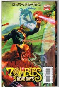 MARVEL ZOMBIES : DEAD DAYS #1,Kirkman,Suydam,2007, NM+, more MZ's in our sto