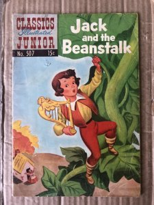 Classics Illustrated Junior #507