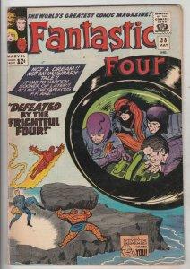 Fantastic Four #38 (May-65) GD/VG Affordable-Grade Fantastic Four, Mr. Fantas...