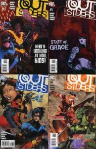OUTSIDERS (2003) 40-43 Mad Scientists 4-part story