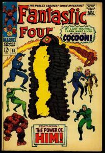 Fantastic Four #67 1967- Hot Book- 1st HIM / WARLOCK - FN