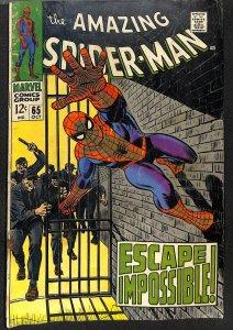 Amazing Spider-Man #65 VG 4.0