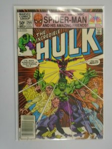 Incredible Hulk #266 Newsstand edition 6.0 FN (1981 1st Series)