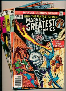 Marvel LOT OF 5-FANTASTIC FOUR #65, 90,94-96  VG- (PF817)