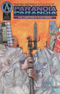 Paranoia (Adventure) #3 VF/NM; Adventure   save on shipping - details inside